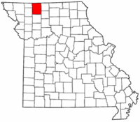 Map of Missouri highlighting Harrison County.png