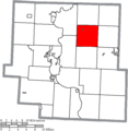 Map of Muskingum County Ohio Highlighting Salem Township.png