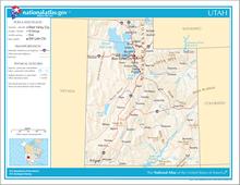 Outline Of Utah Wikipedia - Map of utah