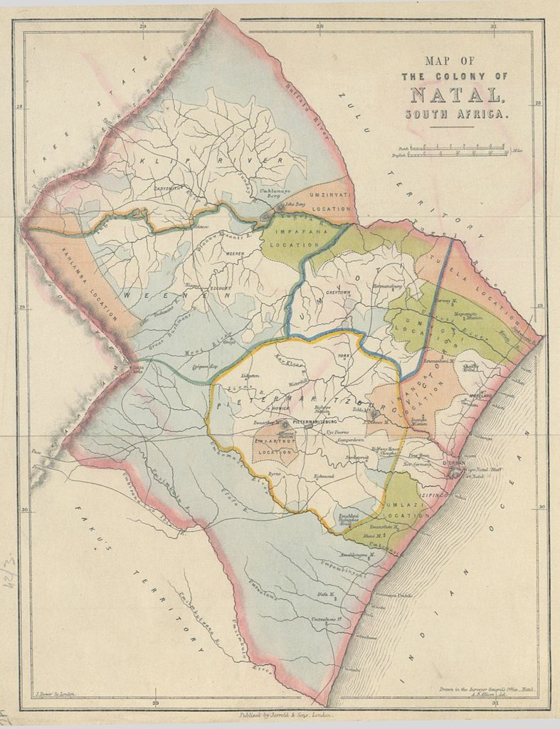 Natal South Africa Map.File Map Of The Colony Of Natal South Africa Jpg Wikimedia Commons