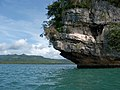 Marabut, Philippines, Limestone formations.jpg