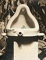 Marcel Duchamp, 1917, Fountain, photograph by Alfred Stieglitz.jpg