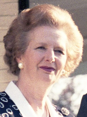 Conservative Party (UK) leadership election, 1989 - Margaret Thatcher