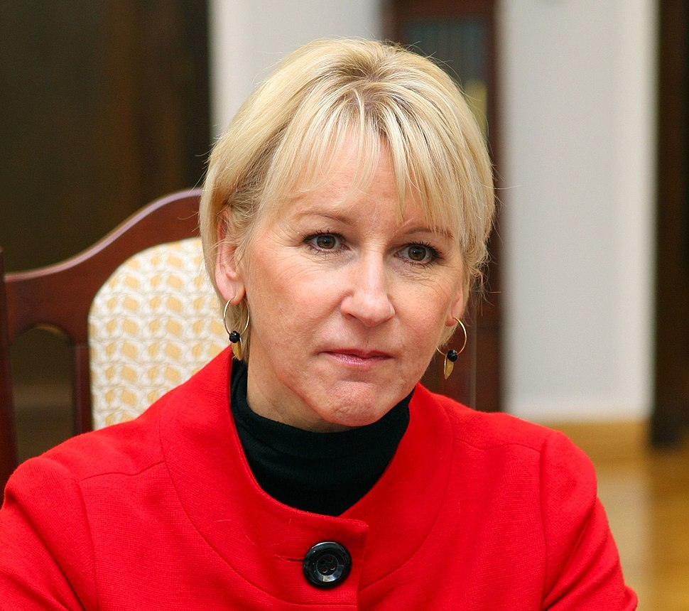 Margot Wallström Senate of Poland 01 (cropped)