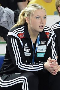 Mari Molid, Metz Handball vs Larvik, 15 november 2014
