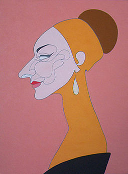 Portrait of Callas (2004), by Oleg Karuvits Maria Callas by Karuvits.jpg