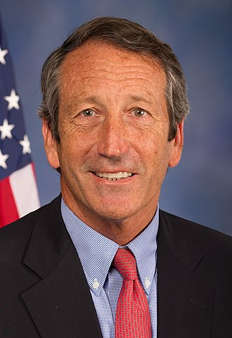 2002 South Carolina gubernatorial election - Image: Mark Sanford, Official Portrait, 113th Congress (cropped)