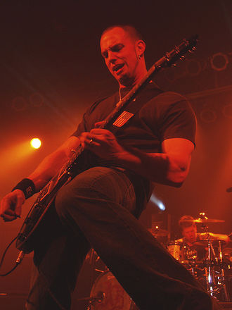 Mark Tremonti - Tremonti performing with Alter Bridge in 2007.