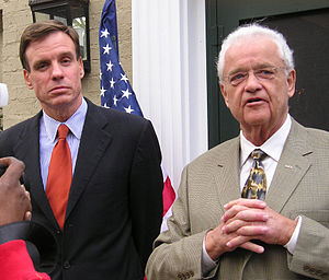Leonard Boswell - Boswell with Governor Mark Warner, 2006