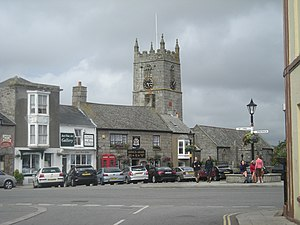 St Just in Penwith - Image: Market Square, St Just geograph.org.uk 912151
