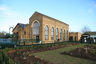Markfield Beam Engine and Museum - Image: Markfield Road Pumping Station geograph.org.uk 1617805
