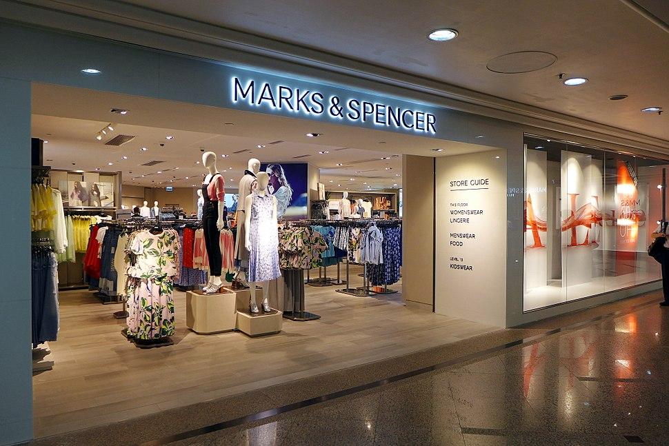 Marks & Spencer in Times Square HK 201507