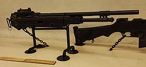 M1895 Colt–Browning machine gun - The Marlin M1917 used a different operating mechanism and bears only a passing resemblance to the M1895/14 it was based on.
