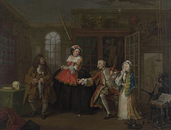 Ουΐλλιαμ Χόγκαρθ: Marriage à-la-mode: 3. The Inspection