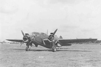 Martin Baltimore - Martin A-30 in USAAF colors prior to delivery