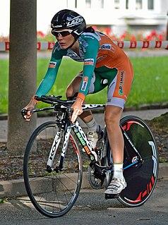 Martine Bras Dutch cyclist