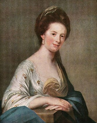 Mary Hay, 14th Countess of Erroll - Painting of Mary Hay 14th Countess of Erroll, by Francis Cotes  (1726-1770)