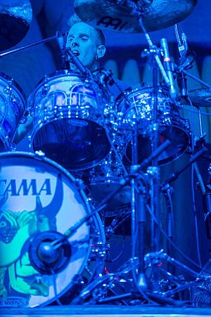 Brann Dailor - Brann Dailor performing live at Rock im Park in 2014.