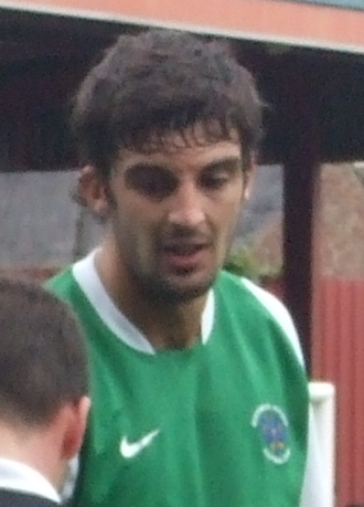 Mat Bailey - Bailey playing for Northwich Victoria in 2009