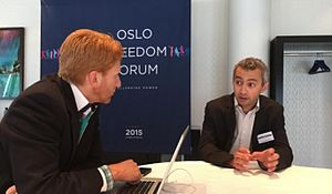 Ahmed Benchemsi - Ahmed Benchemsi in an exclusive interview with The Oslo Times Senior Media Advisor Matthew Alan Classen