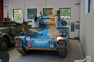 Military Vehicle Technology Foundation - Image: Matilda MK2 Series 4