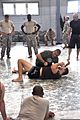 Matt Mitrione & Chris Lytle demonstrate fighting maneuvers (110920-A-GI410-152).jpg