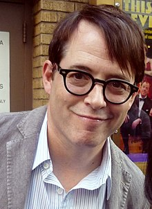 O actor y productor estatounitense Matthew Broderick en 2012