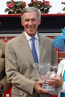 Michael R. Matz American racehorse trainer and equestrian