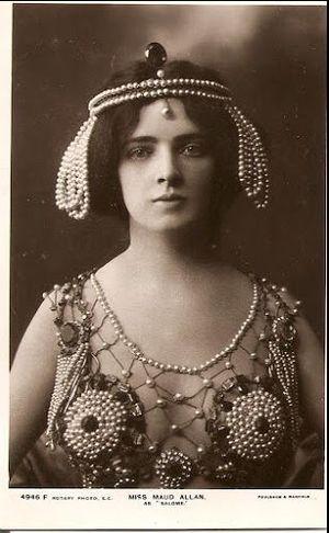 Maud Allan - Maud Allan as Salome c. 1906–10.