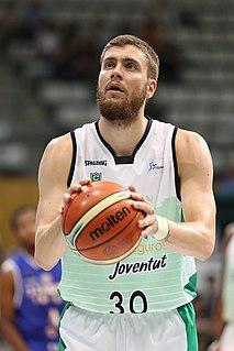 Dominik Mavra Croatian basketball player