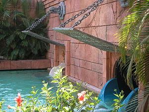 Sharks await visitors at the bottom of Mayan T...