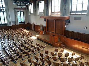 James McCosh - A lecture room in McCosh Hall at Princeton University