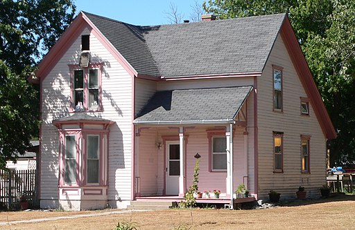 McKeeby House (Red Cloud, Nebraska) from NE