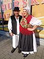Međimurska narodna nošnja na otvorenju slastičarnice Međimurska gibanica.jpg