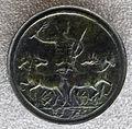 Medaglione di caracalla, recto con imperatore su quadriga reggente frustino e palma.JPG