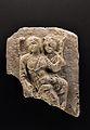 Medalló d'estuc amb dues figures femenines, segles III-IV, Museu Arqueològic d'Alacant.JPG