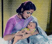 Meena Kumari in film Chand (1959).jpg