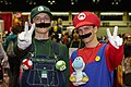 MegaCon 2010 - Luigi and Mario (4572045686).jpg
