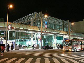 Meitetsu Gifu Station Railway station in Gifu, Gifu Prefecture, Japan