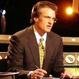 Mel Kiper Jr. NFL Draft expert for ESPN during...