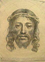 Mellan Sudarium of Saint Veronica