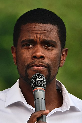 Melvin Carter (politician) - Image: Melvin Carter at the Como Park Japanese Obon Festival 2018 08 19