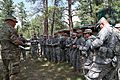 Members of the 235th Military Police Company, Rapid City, S.D., receive a mission and safety brief.jpg