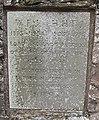 Memorial stone, Glewstone - geograph.org.uk - 748944.jpg