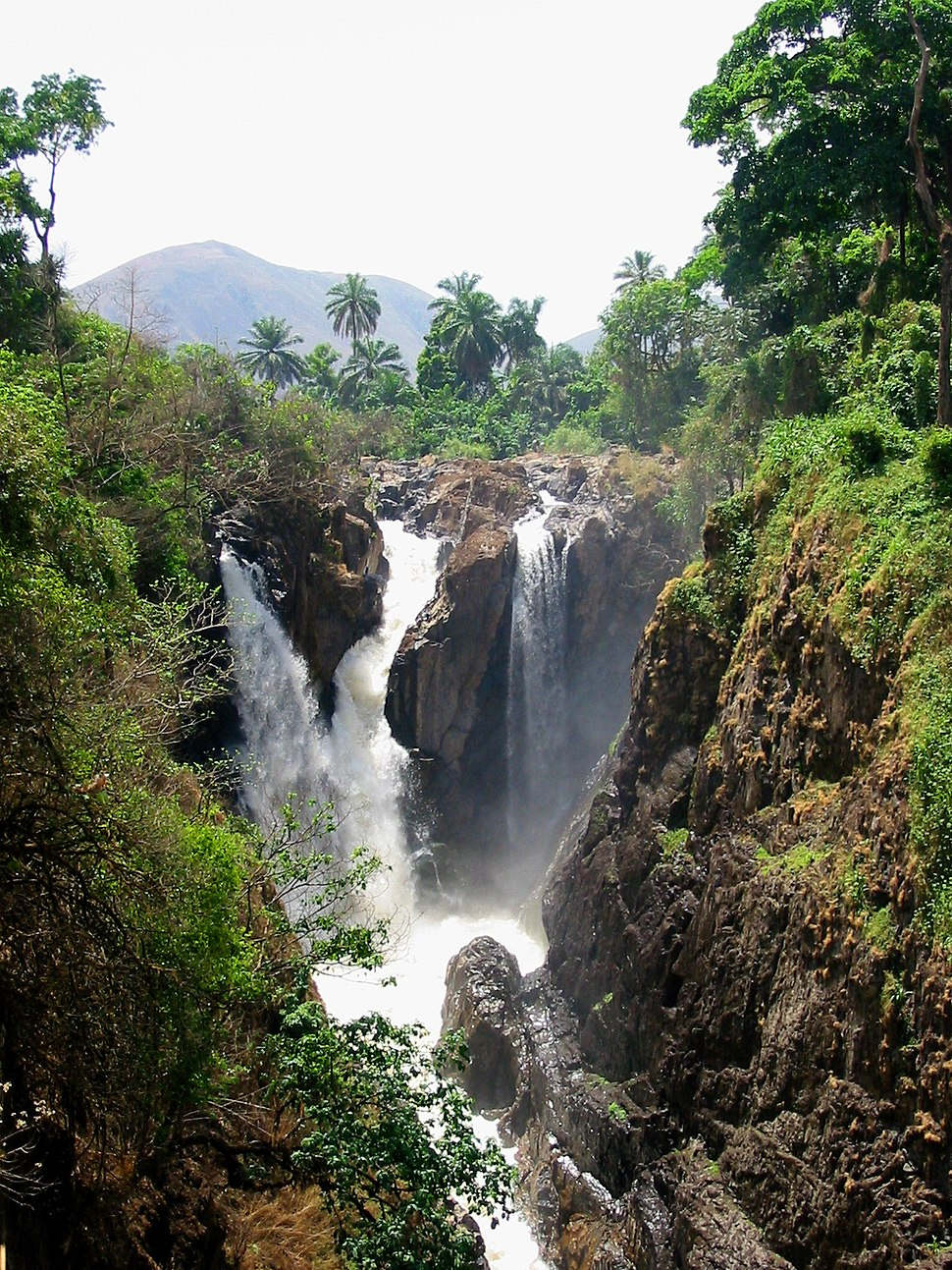 Menchum Falls NWprovince Cameroon