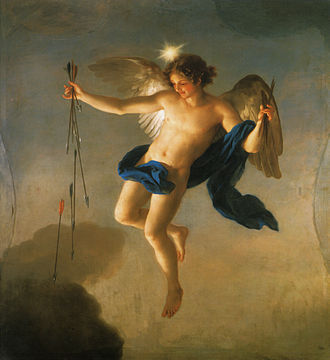 Phosphorus (morning star) - Hesperus (Evening Star personified) by Anton Raphael Mengs, Palacete de la Moncloa, Madrid, 1765