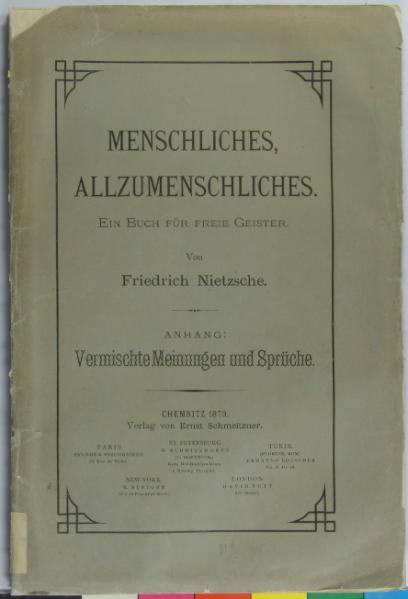 File:Menschliches, Allzumenschliches-Anhang-Nietzsche-1879.djvu
