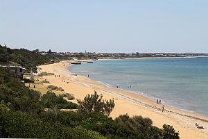 Mentone, Victoria - Mentone Beach