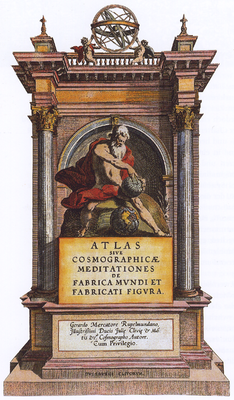 Mercator - Atlas - 1595