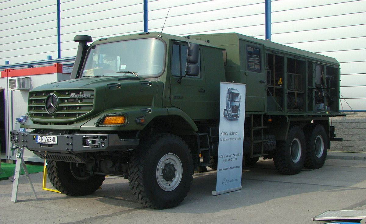 Military Jeep For Sale >> Mercedes-Benz Zetros - Wikipedia